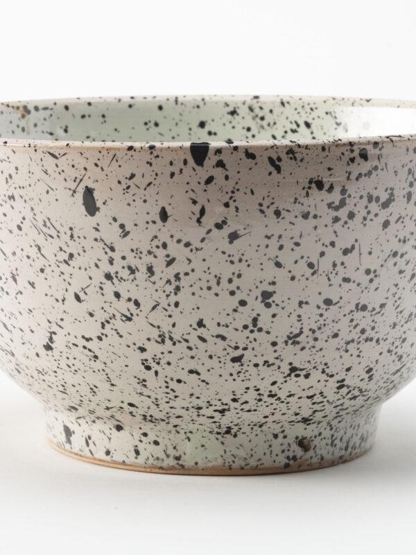 Ensaladeras y cuencos de cerámica de Fez, línea granito – Grande (30cm diámetro)