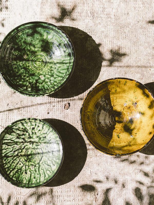 Platos de cerámica, Tamegroute