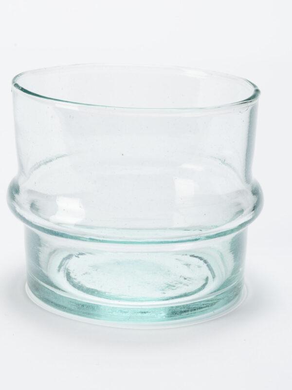 Ensaladeras de vidrio reciclado soplado – Beldi