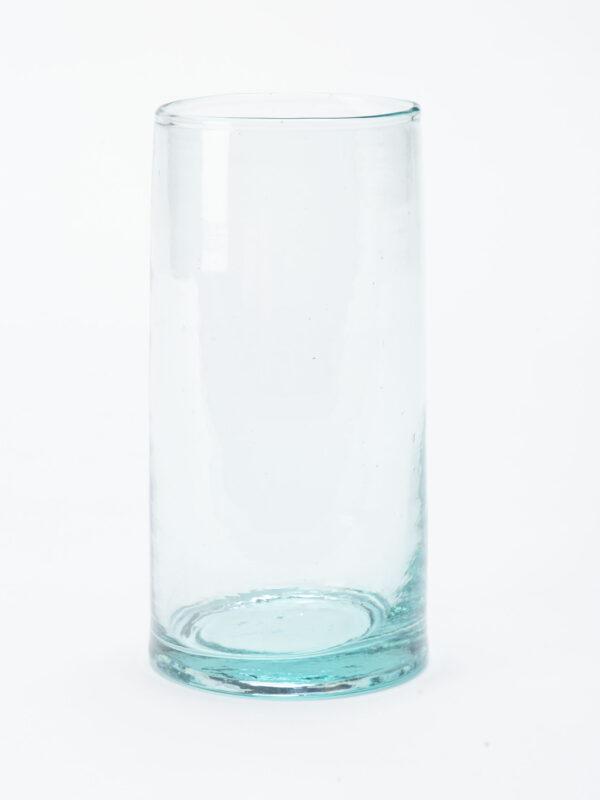 Jarra sin asa vidrio soplado reciclado