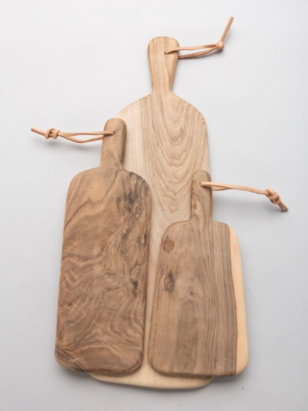 Tablas de madera de nogal artesanales