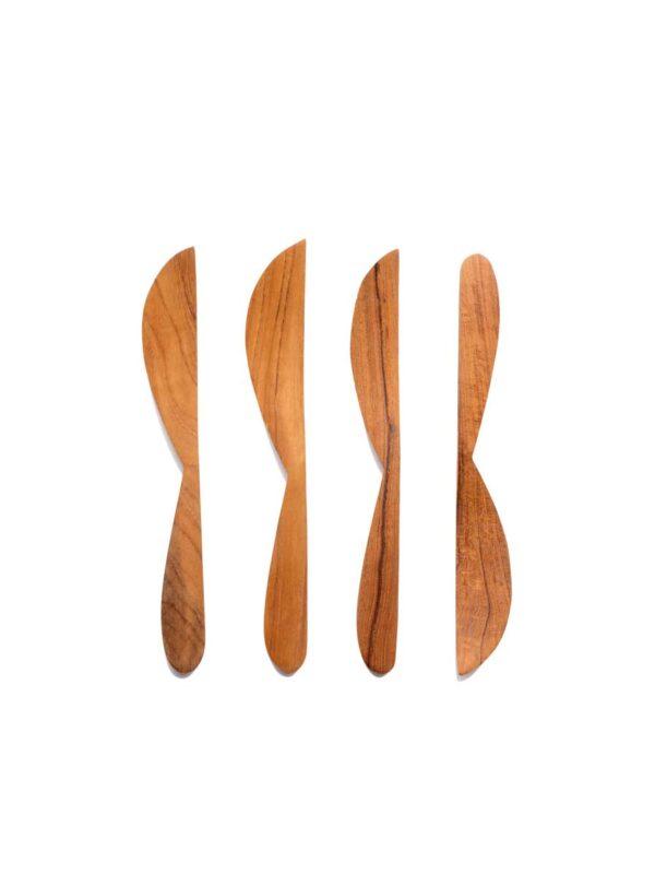 Cuchillos de Madera – Set 4 paquetes con 4 cuchillos