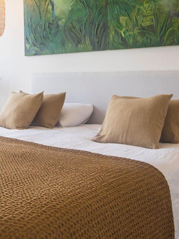Set fundas de cojin en lino lavado