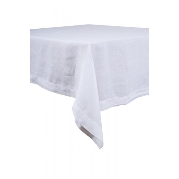 Mantel de lino lavado – Un color único